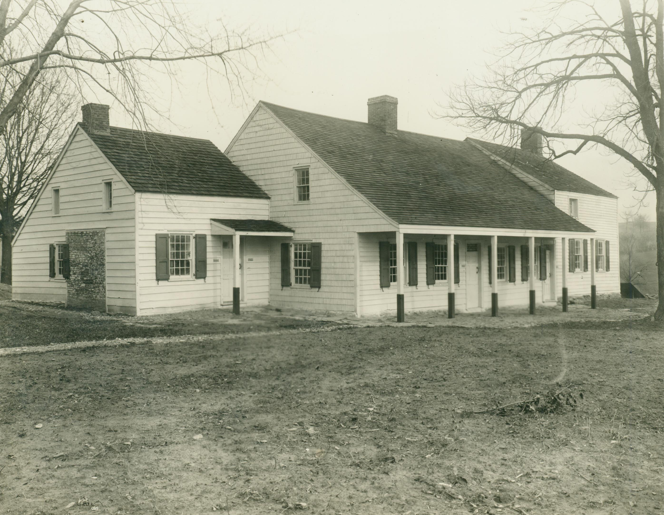 Hammond House in the early 20th century.