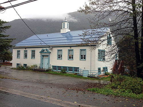 The Mayflower School today as the Juneau Montessori School