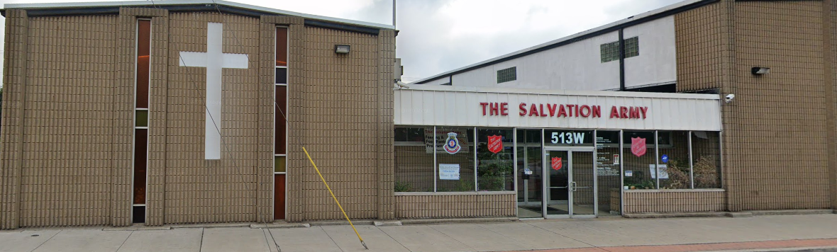 Legion Hall 266 now The Salvation Army