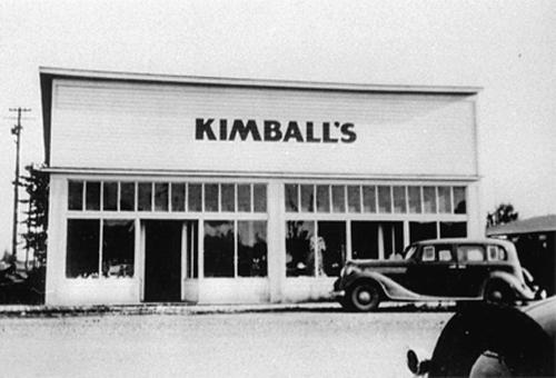 Kimball's Store 1930s