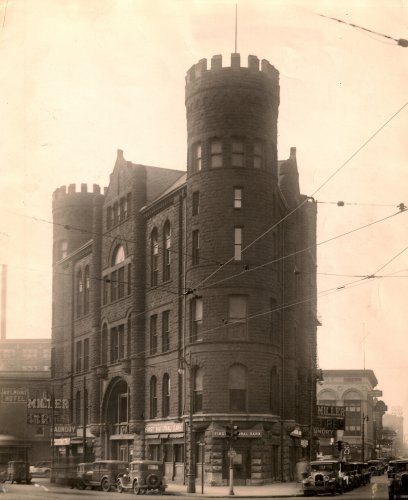 The GAR Building circa 1920s-30s