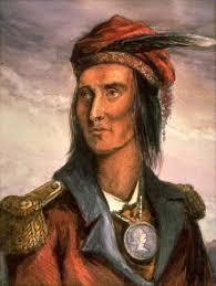 Painting of Tecumseh