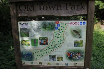 Map of the Oldtown Reserve Park