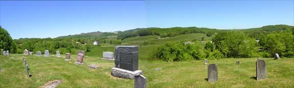 Cemetery at Kessler's Cross Lanes