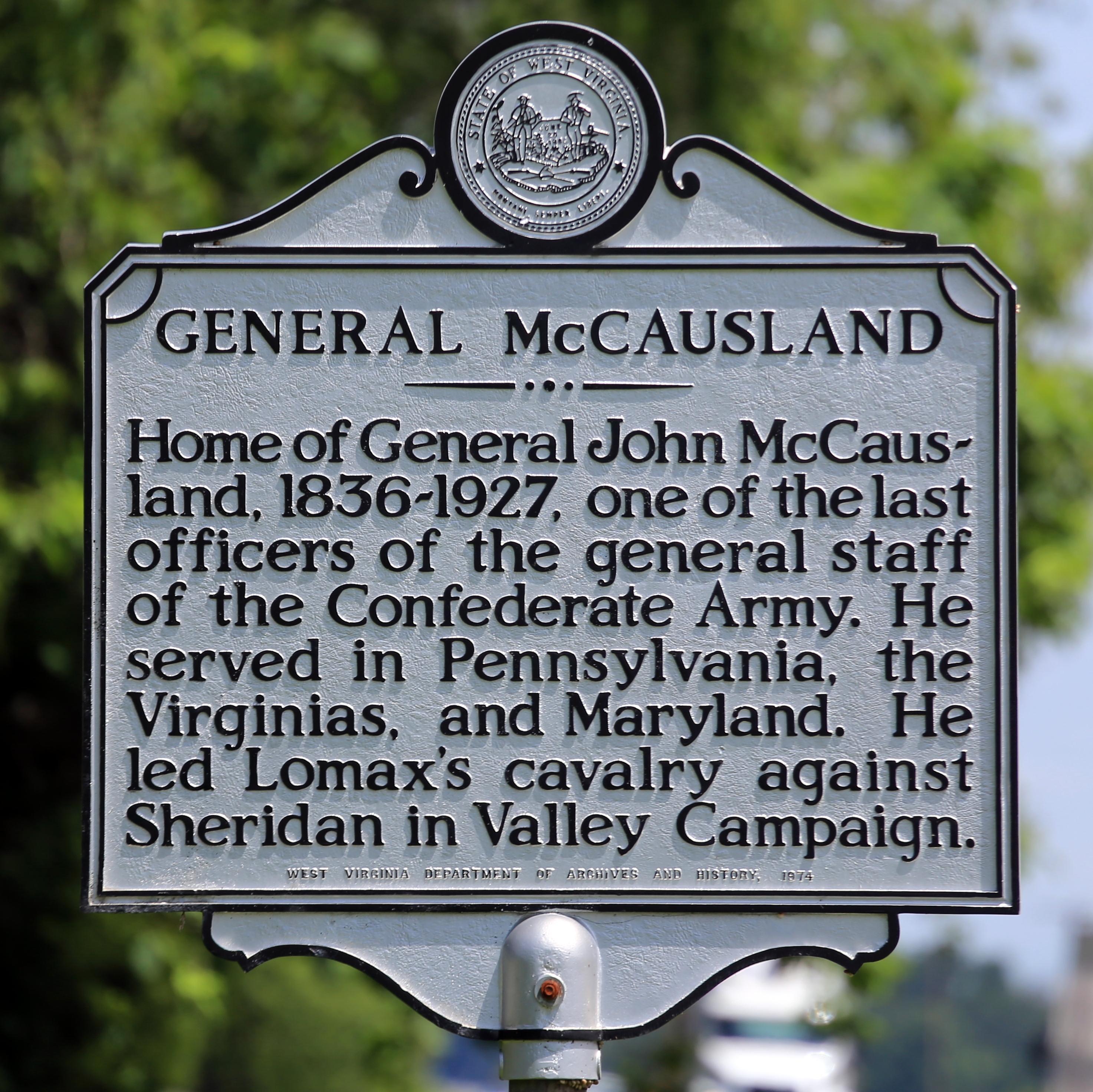 John McCausland historical harker