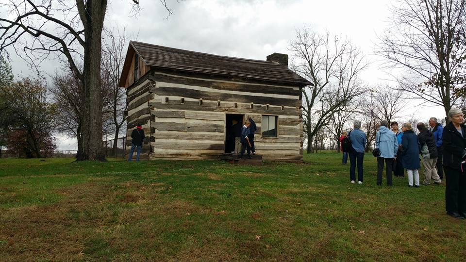 Charles Young' birthplace cabin