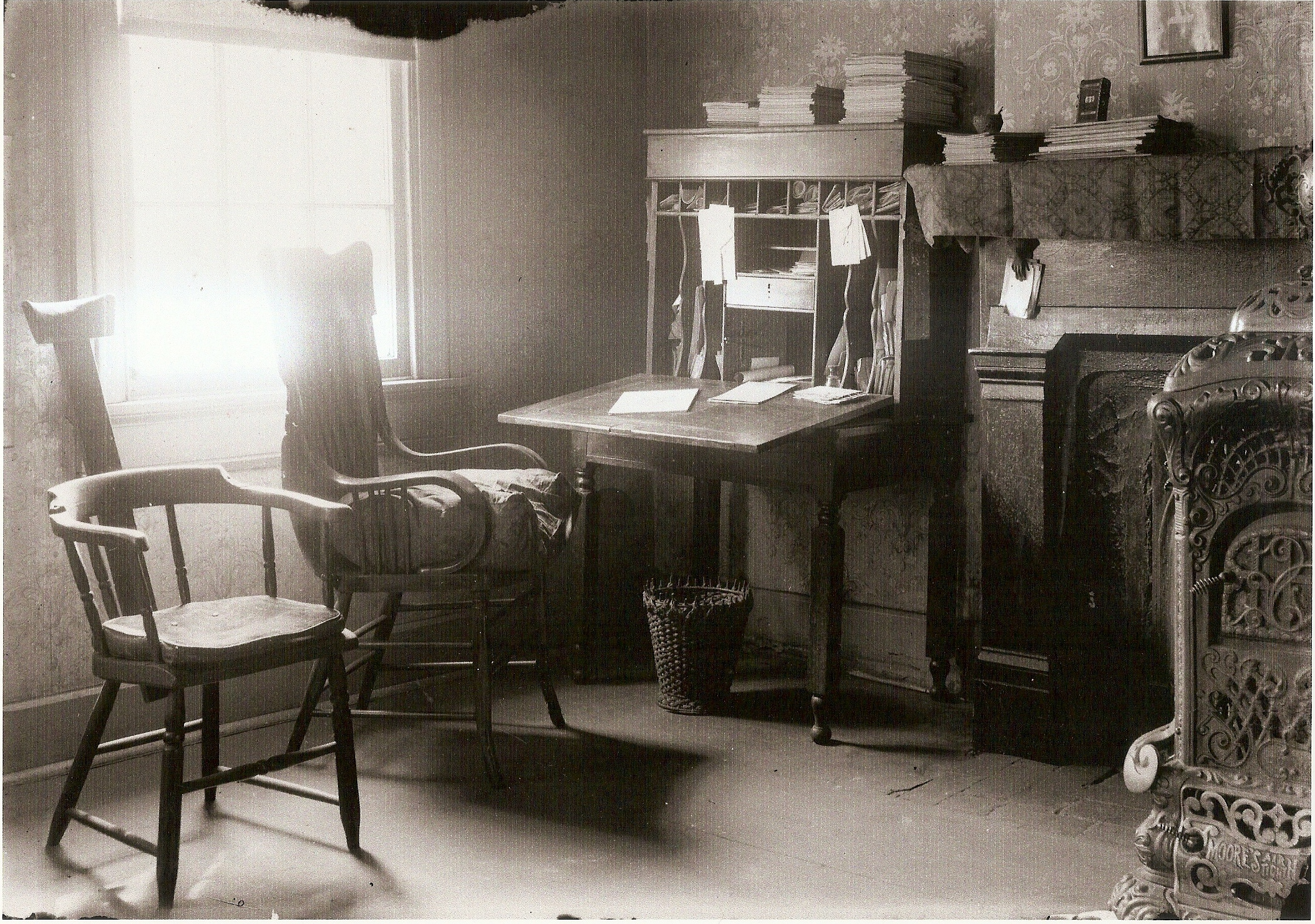 Historic photo of the office