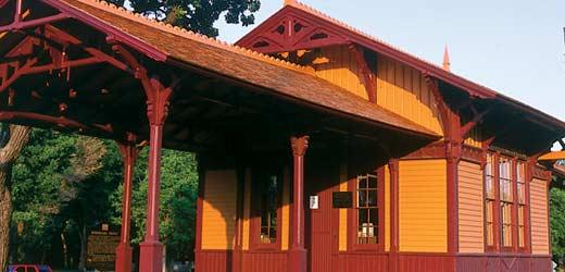 The Minnehaha Depot is operated by the Minnesota Transportation Museum.