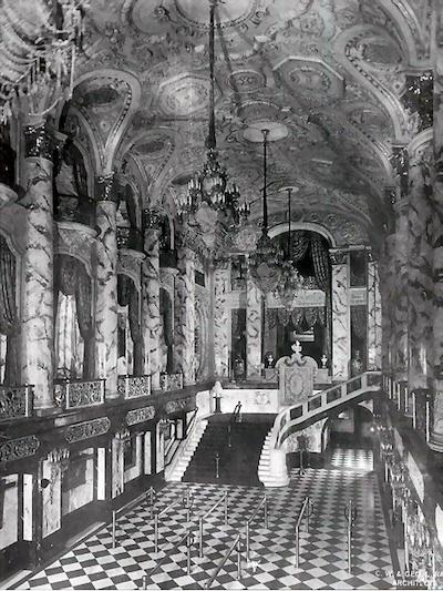 The Michigan Theatre's lobby