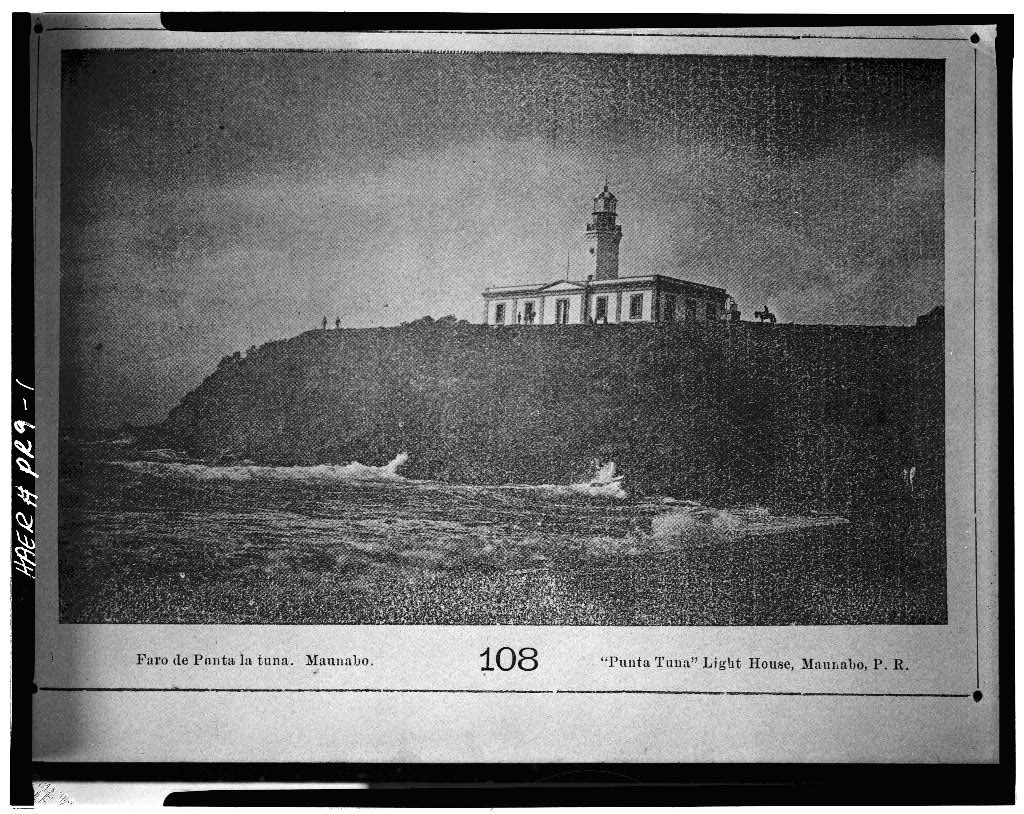 Shot of the lighthouse Ca. 1898.