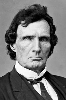 Photo of Congressman Stevens taken during the Civil War. The school's namesake