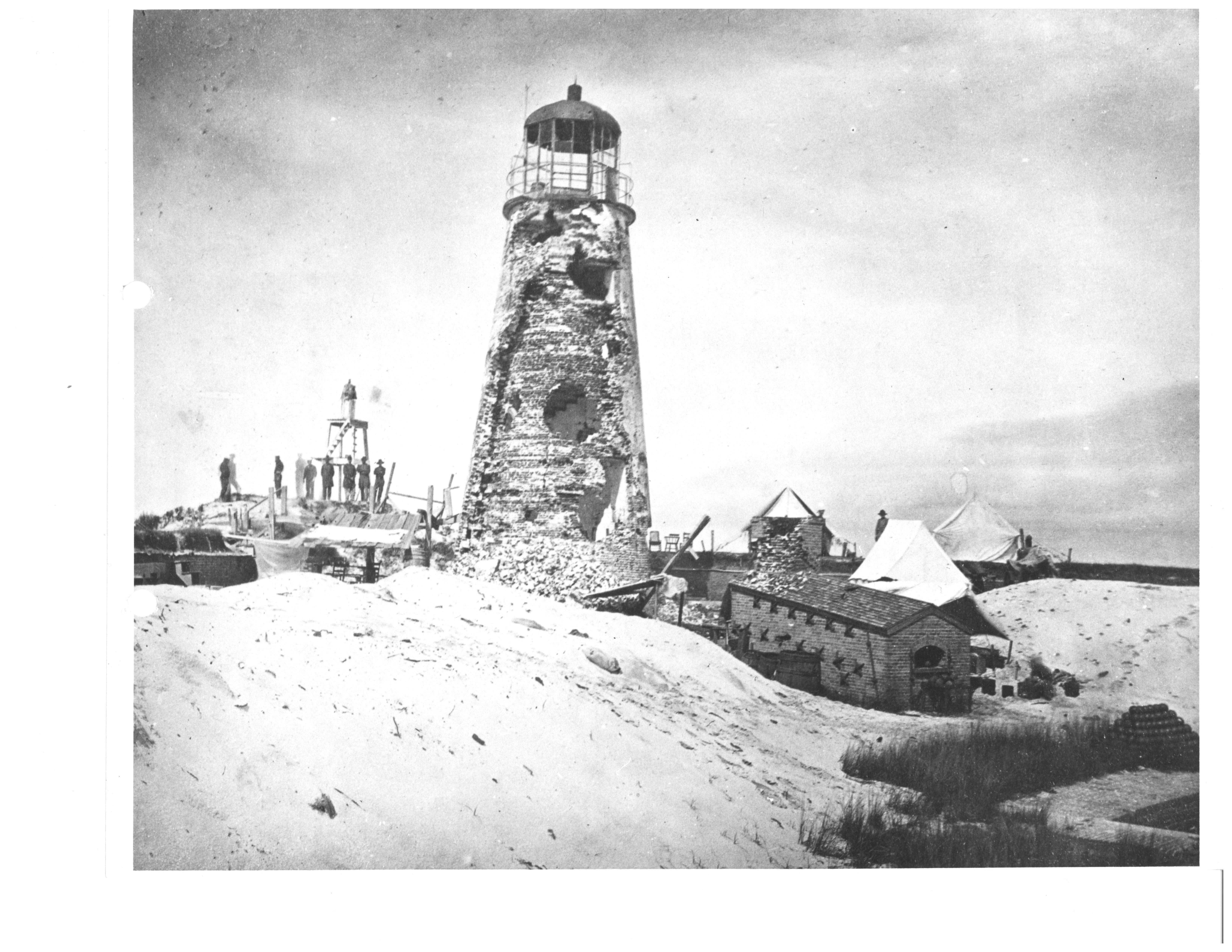 Lighthouse and Furnace 1864