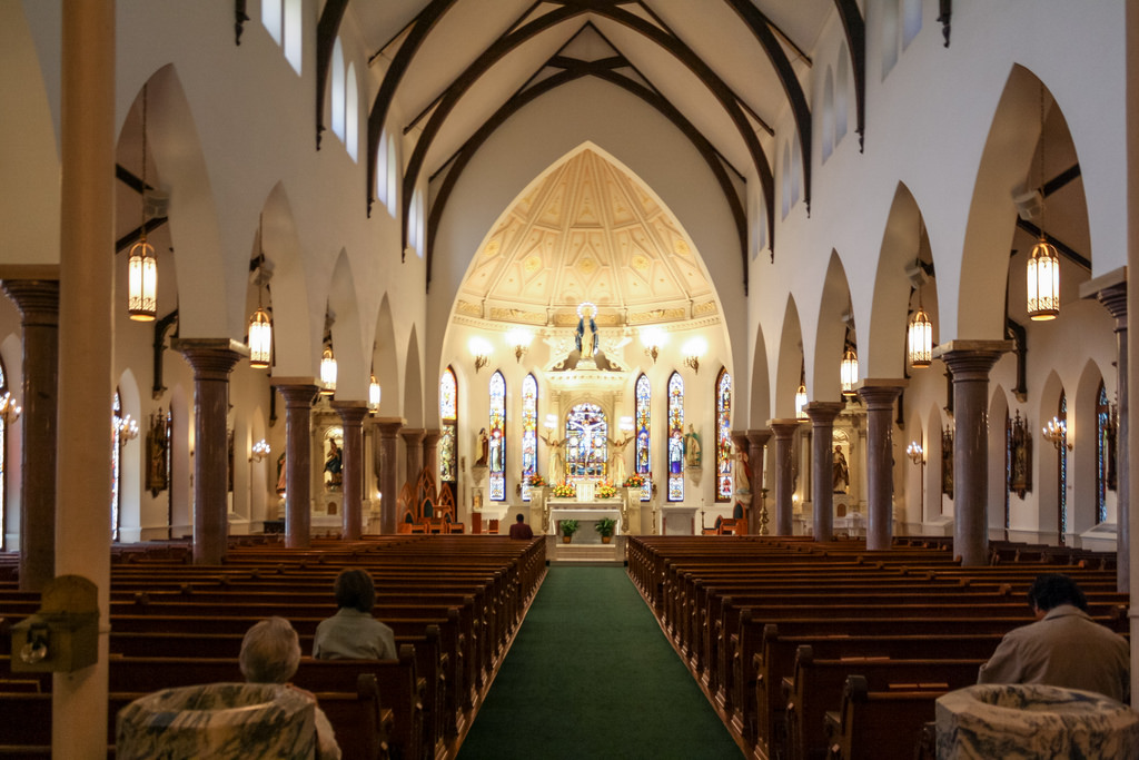 Saint Patrick Interior.