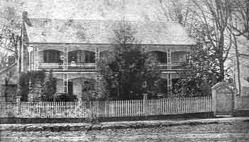 The historic White Home in 1872