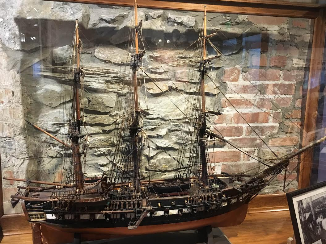 Model of the USS Constitution