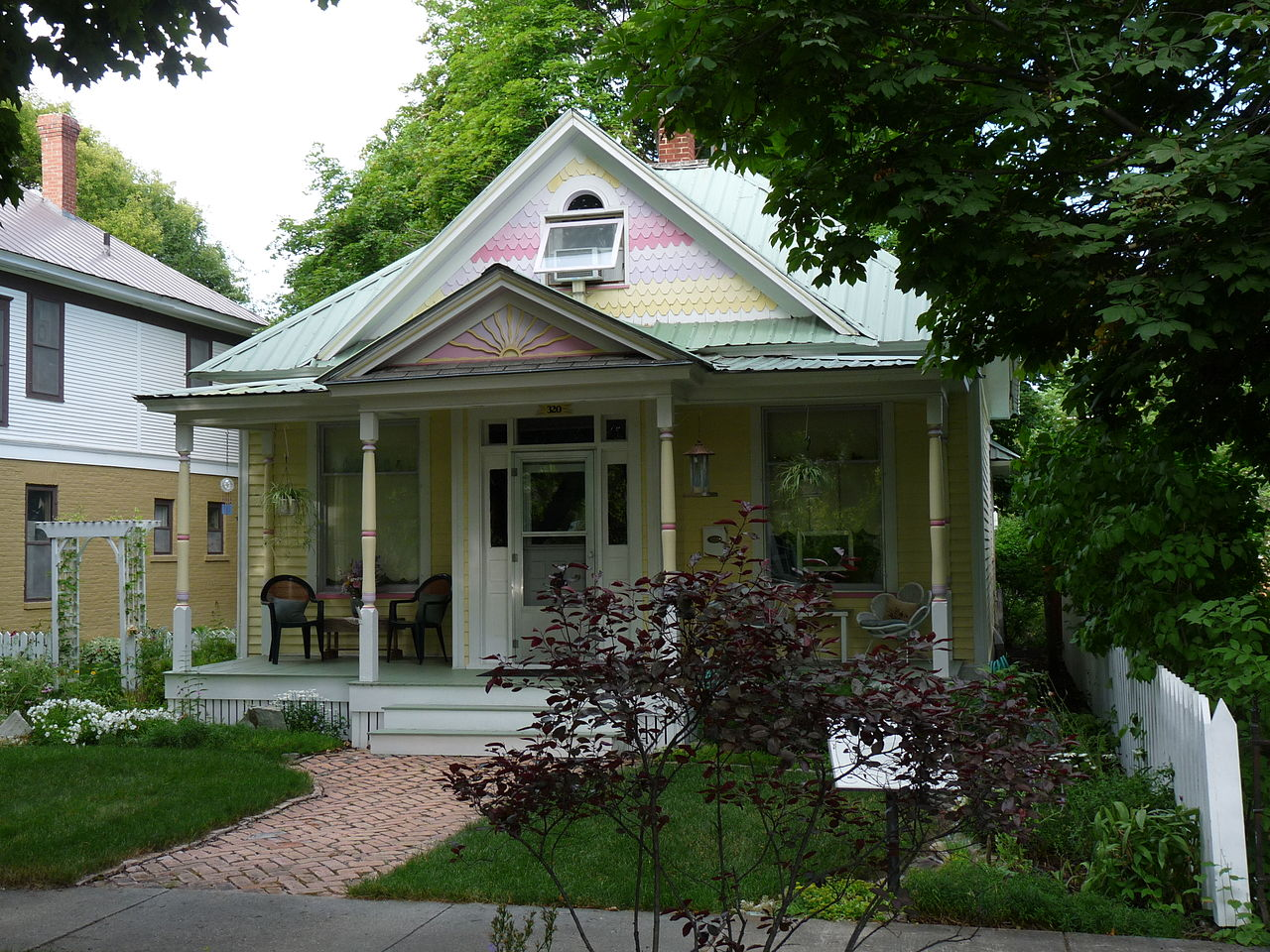 The Ferguson House was built around 1897 and is a fine example of Queen Anne architecture.