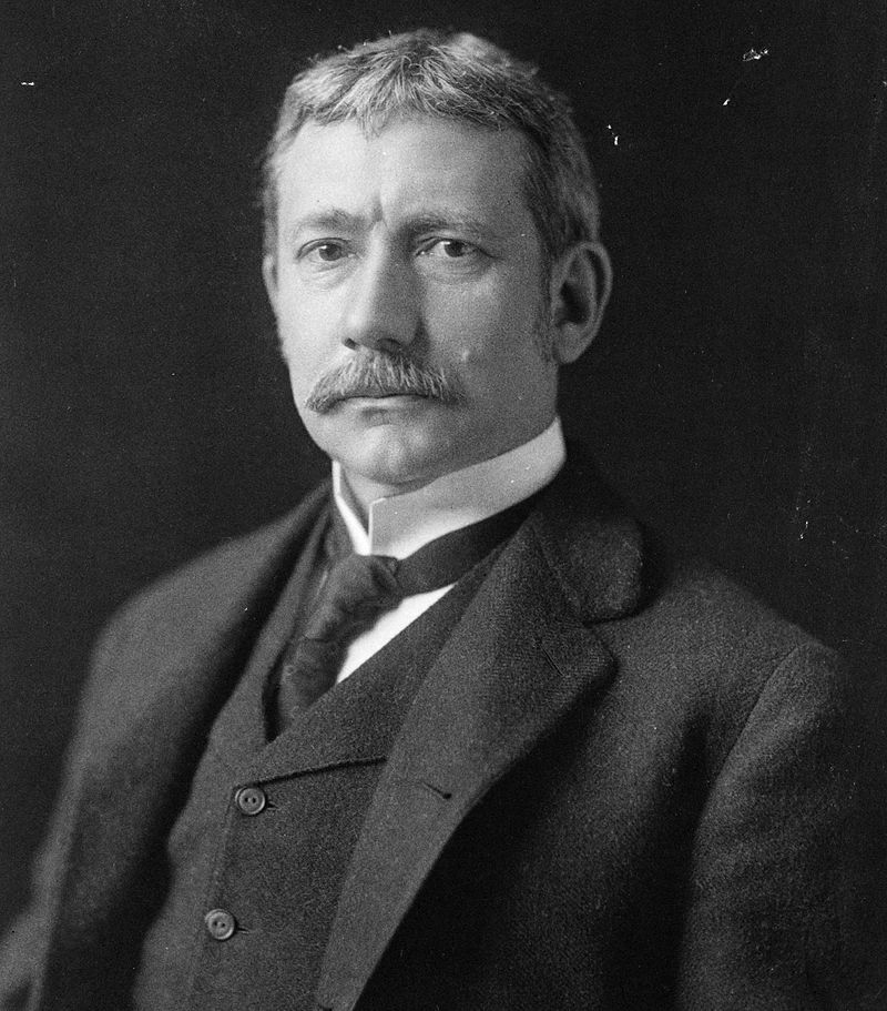 38th US Sec. of State, Elihu Root by George Prince, courtesy of Library of Congress and Wikimedia Commons (public domain)