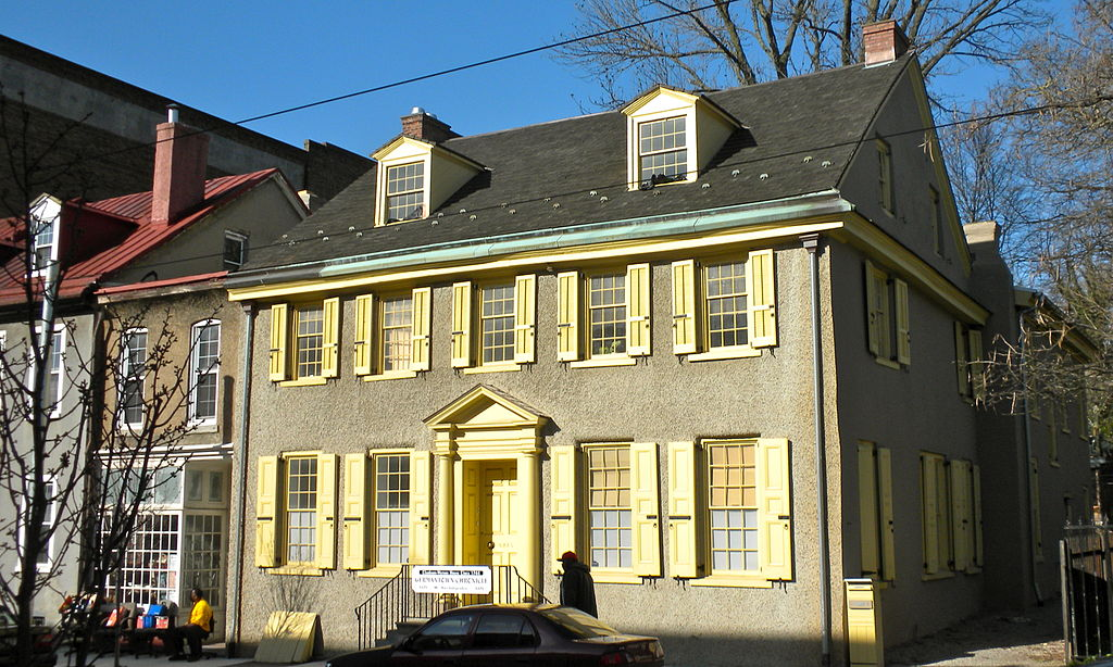 Washington and his generals met at this home in 1777. Thomas Jefferson also lived in this home during the summer of 1793.