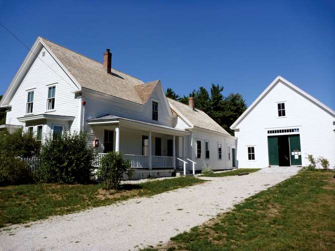 Robert Frost's family farm in Derry, New Hampshire