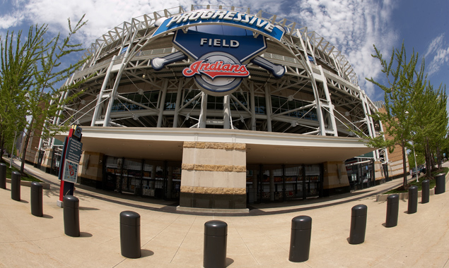 Progressive Field is the home of Major League Baseball's Cleveland Indians. It is situated on Ontario Street in downtown.