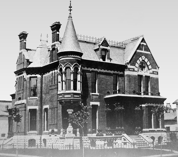 The Ransom Gillis home was built from 1876-1878.