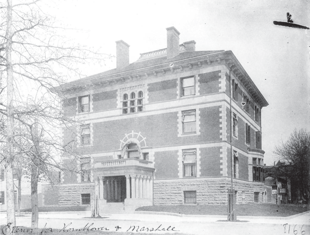 Photo taken prior to the mansion's 1901 renovations