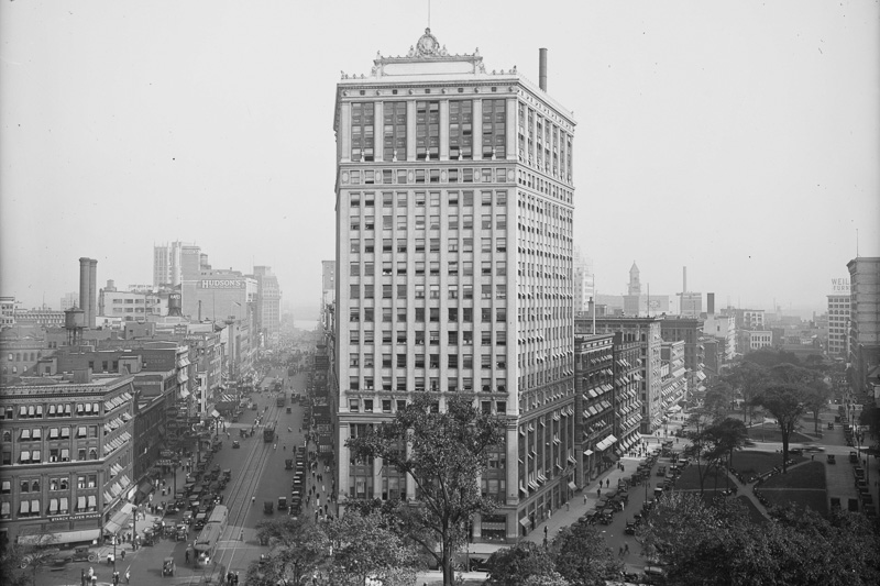 The David Whitney Building, around 1919