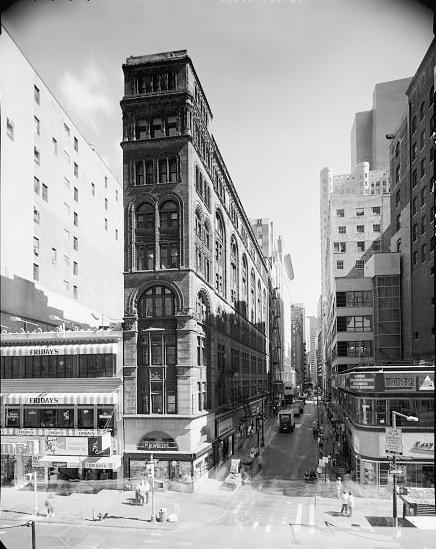 By the second half of the 20th Century, modernization had obliterated Kimball's design at street level -- photo Library of Congress.