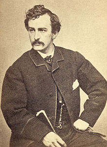 Famous photo of John Wilkes Booth