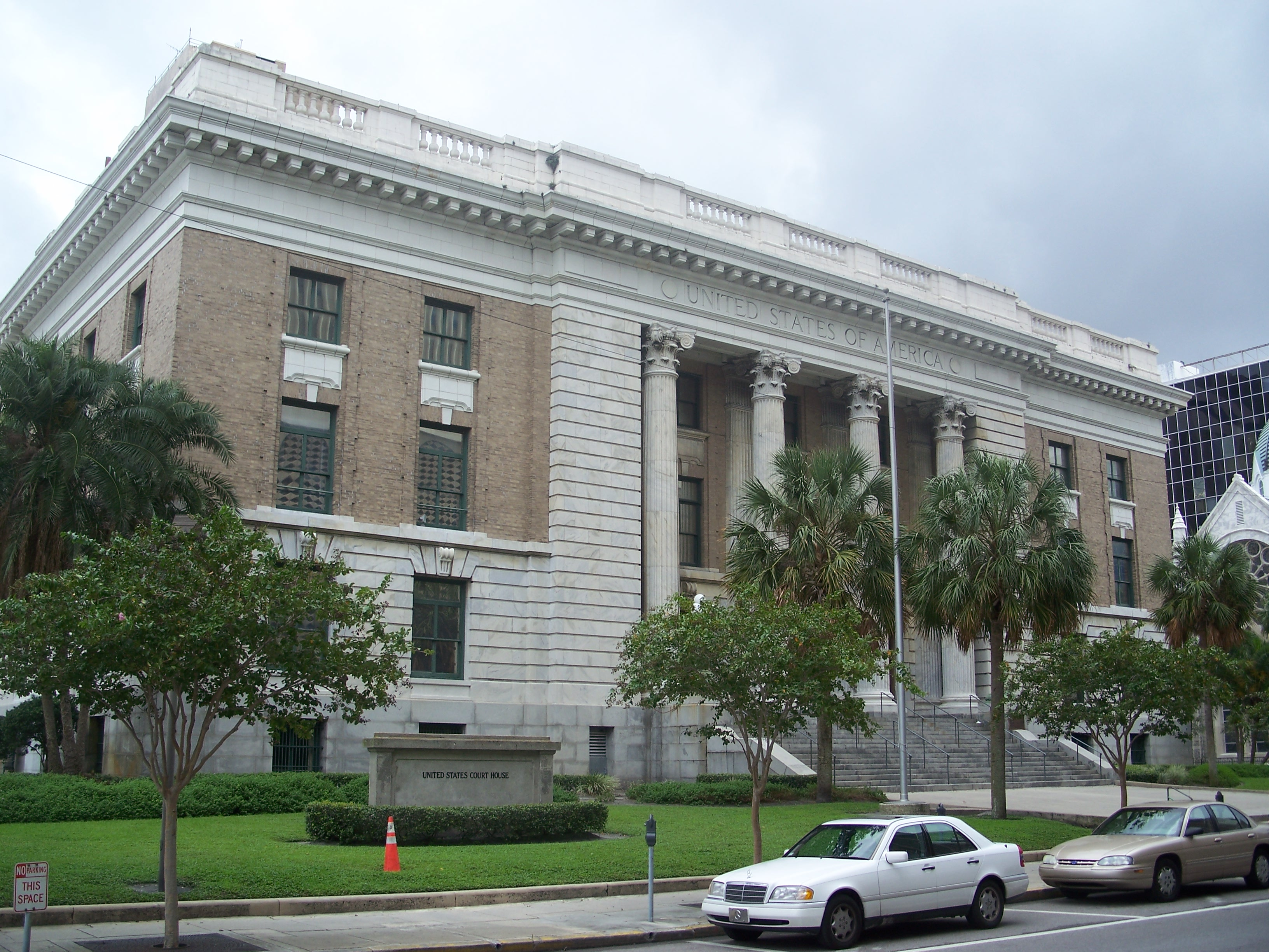 Tampa Federal Courthouse as it looks today