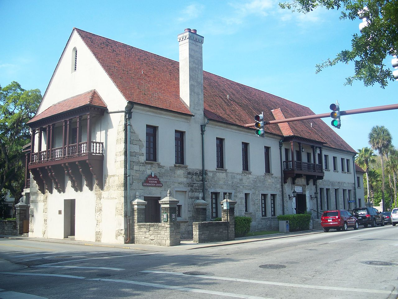 The Government House, which has been at this location and rebuilt on several occasions, was first constructed in 1565.