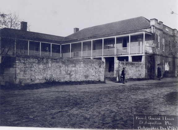 Photo of the building in 1864.
