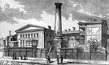 An 1867 sketch of the Mint