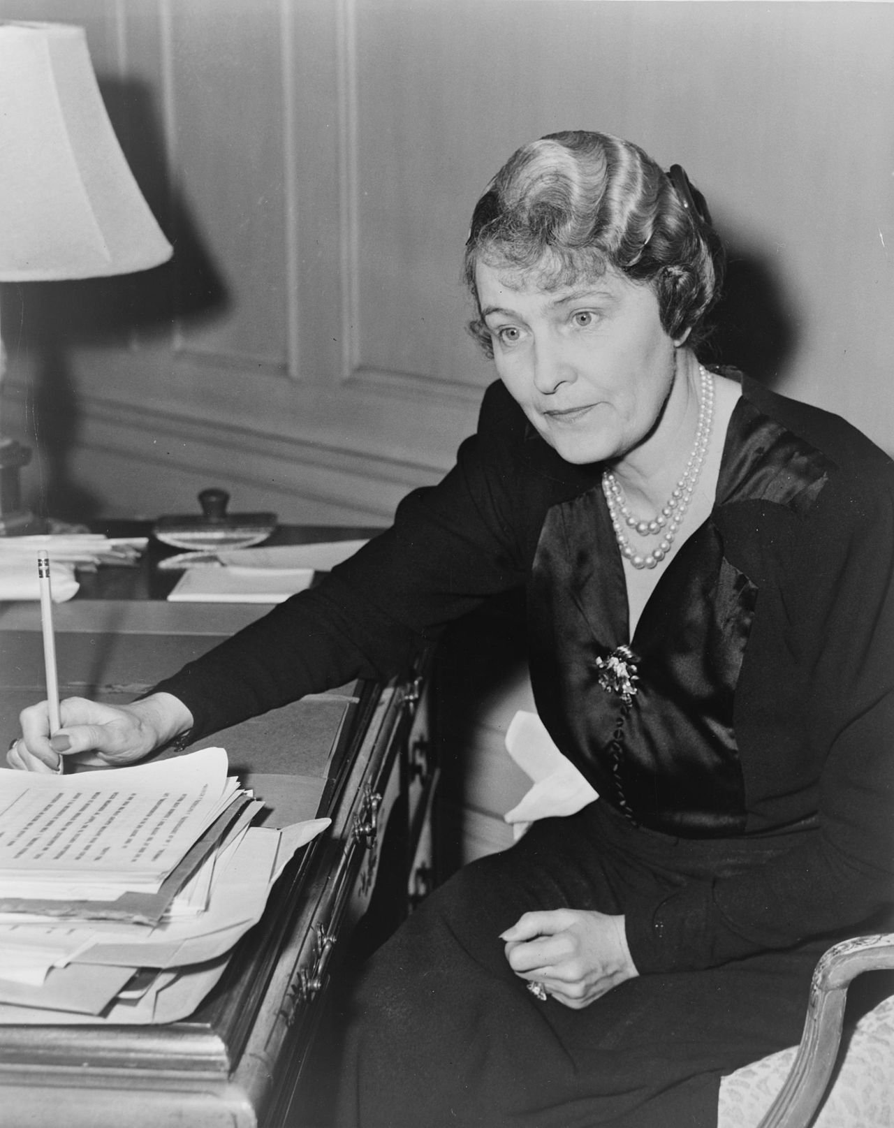 Marjorie Merriweather Post, heiress and owner of the Post cereal company, built the Hillwood Estate after leaving Tregaron.