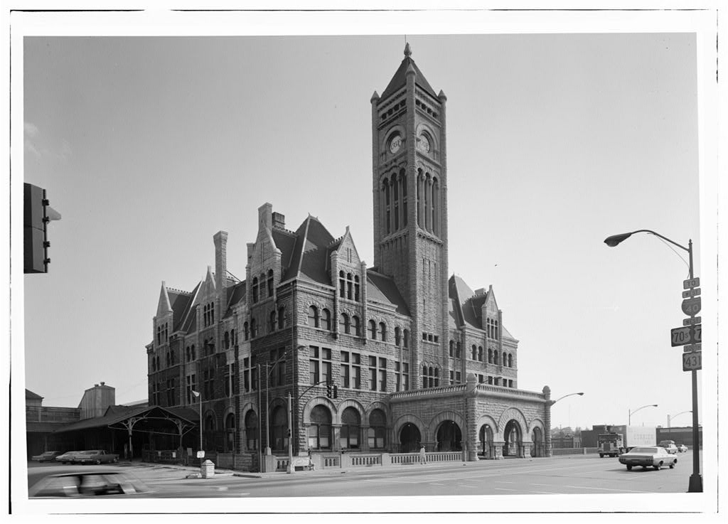 1970 Historic American Building Survey Photograph
