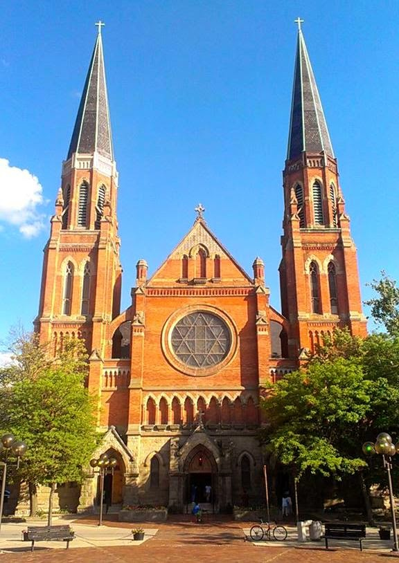 The current Ste Anne de Detroit was dedicated on October 30, 1887
