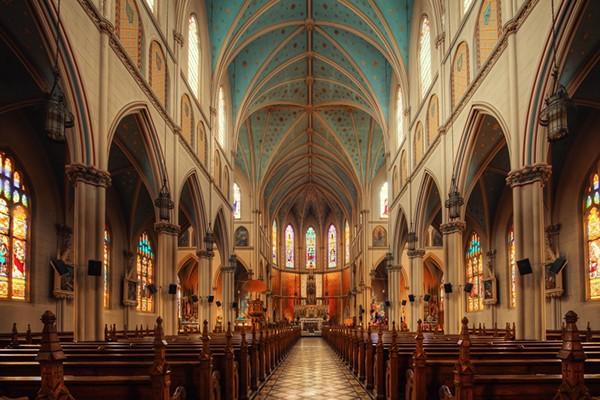 Ste. Anne's nave