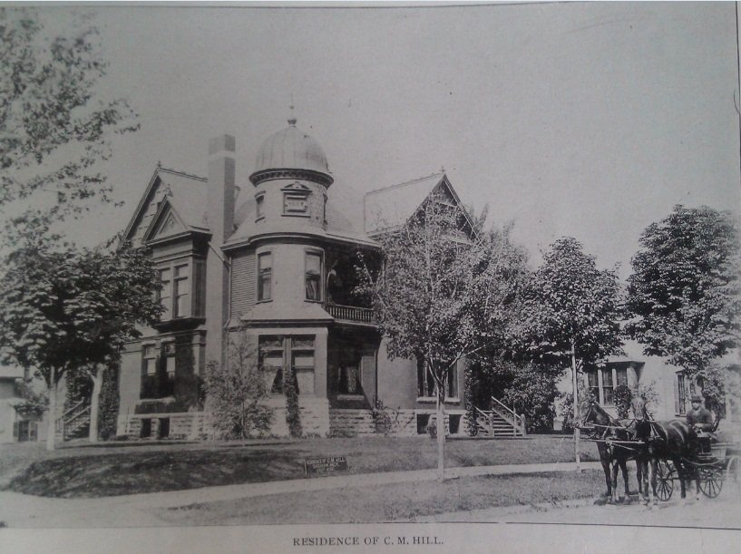 Hill House Mansion in 1885