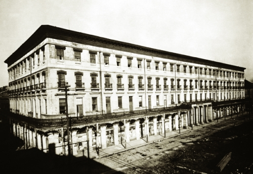 Undated photo of the hotel