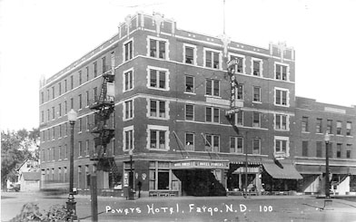 This image of the hotel was taken in 1936.