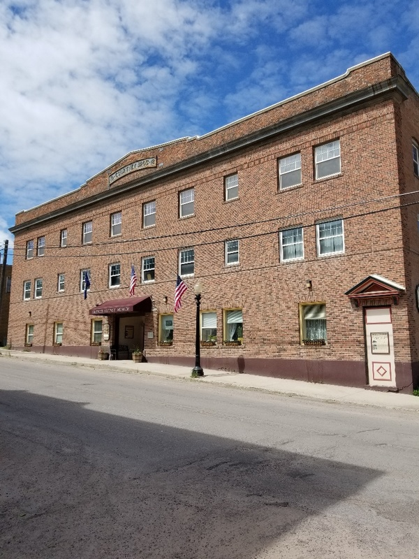 The Granite County Museum is housed in the historic Courtney Hotel, which was built in 1918.