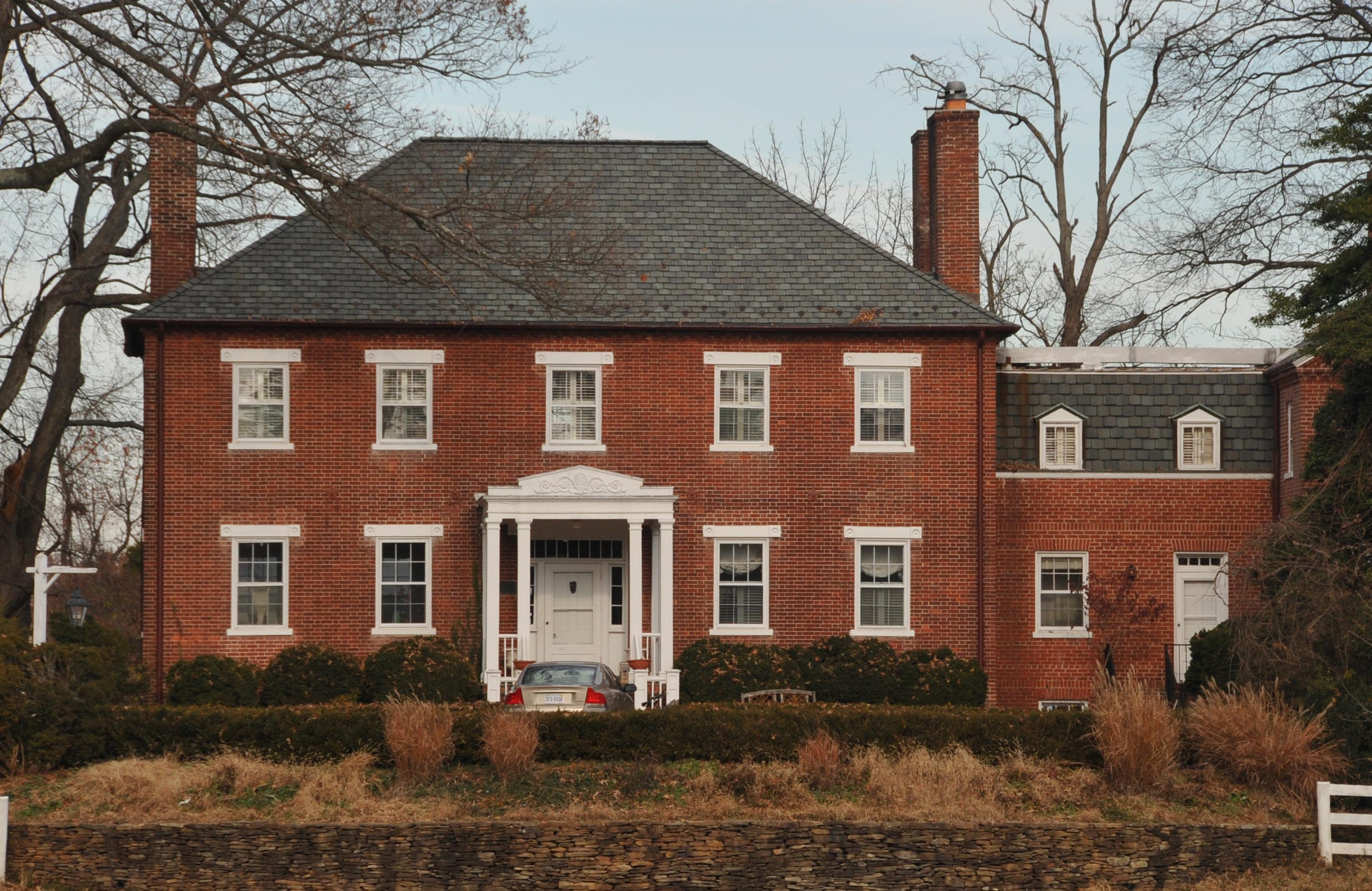 A view of the home in 2012