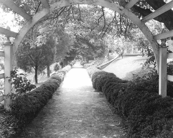 Long Walk, 1927, by Frances Benjamin Johnston