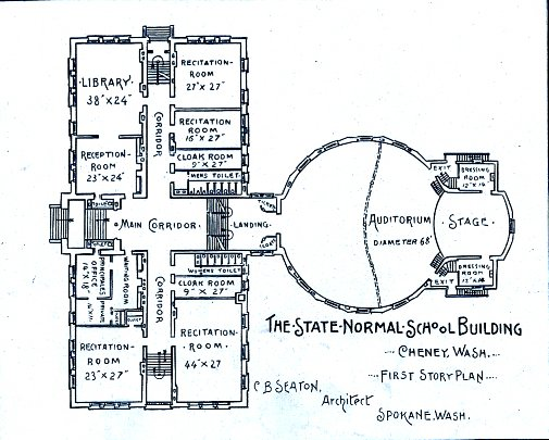 Ground/first floor plan