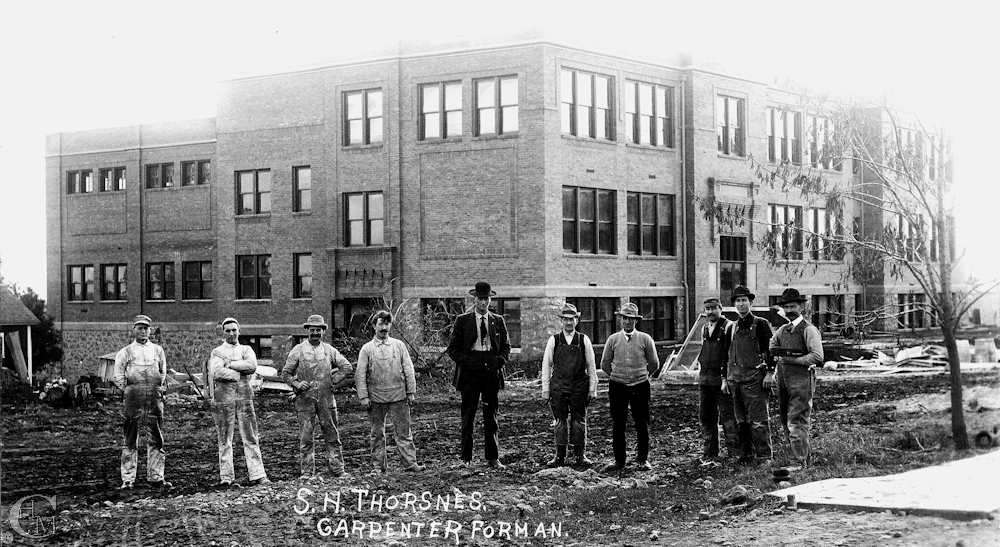 1912 construction crew included Fritz Steiner.