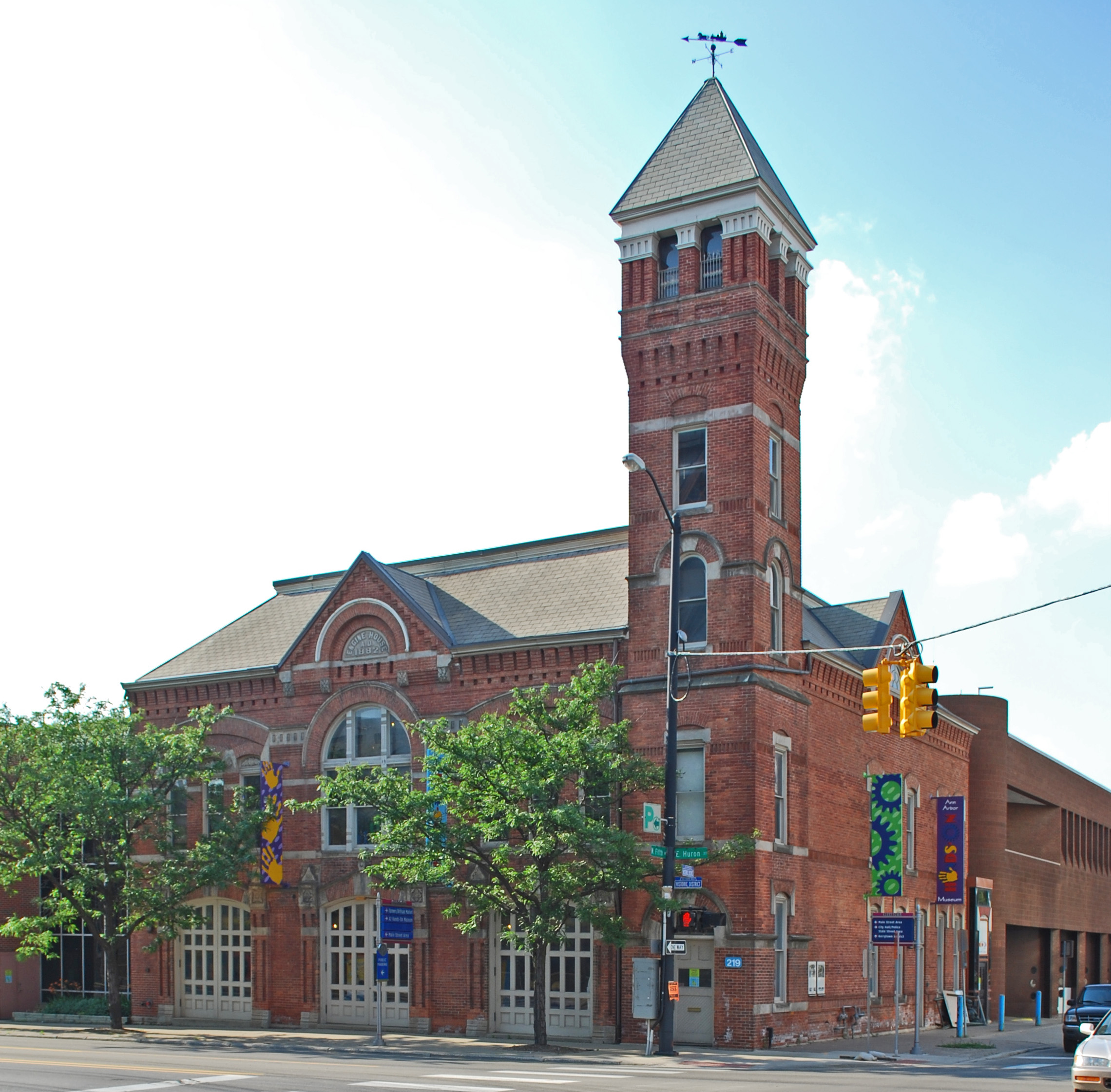 The museum opened in the Central Fire Station in 1982, 100 years after it was built.