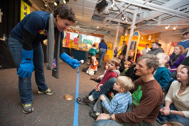 Educational programs are integral to the museum's mission to teach STEM field concepts