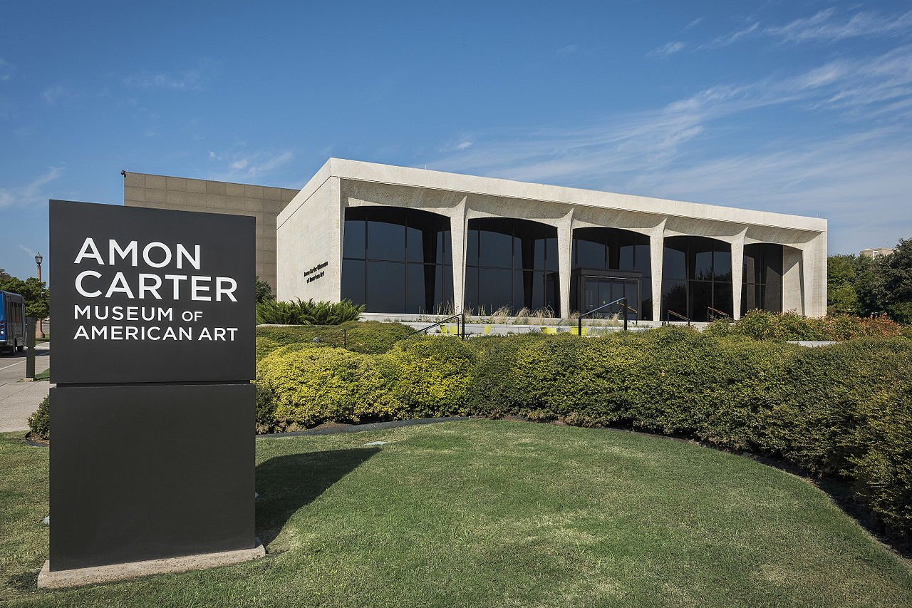 The Amon Carter Museum of American Art was founded in 1961.