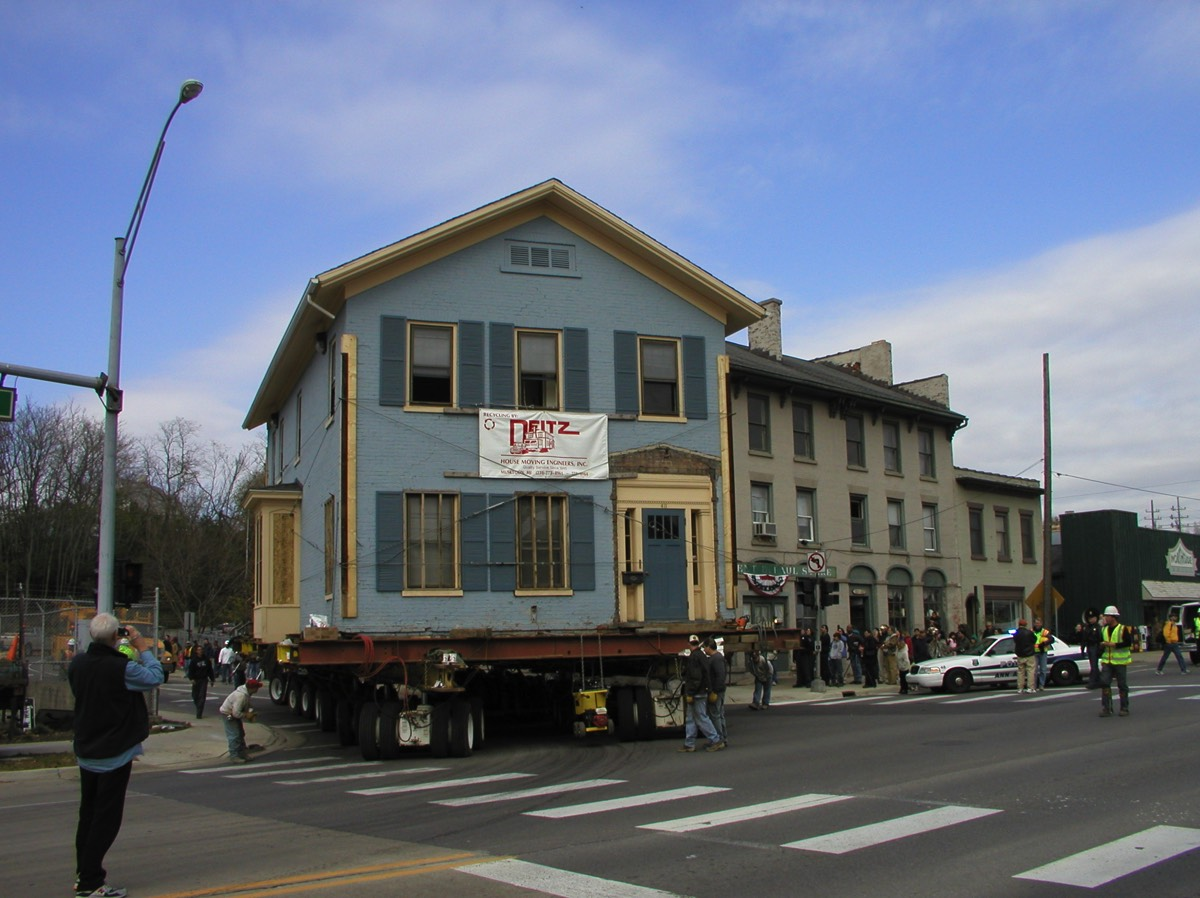 The future home of the museum is an 1848 historic home that was moved from downtown Ann Arbor to Pontiac Trail