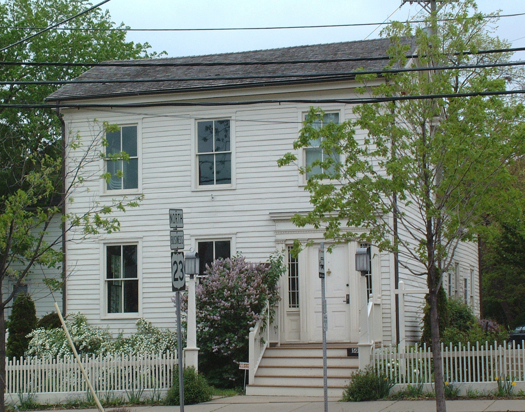 The Museum on Main Street is in an historic 1830s home built by the Kellogg-Warden family